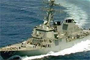 china accuses us of show of force with taiwan strait passage