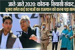 goodbye 2020 rajasthan faced many incidents