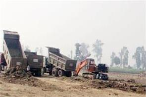 illegal soil being sold indiscriminately