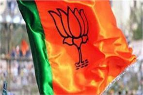 bjp fielded its candidates in 14 seats of district council