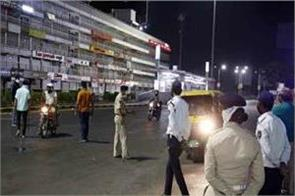 gujarat curfew will continue at night