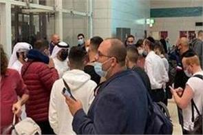 200 israelis being kept at dubai airport