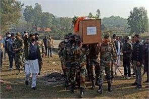 last farewell given to parvez kumar with military honors