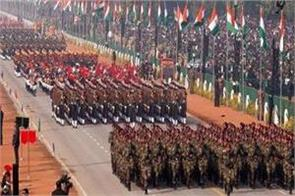 nearly 150 soldiers arrived delhi attend republic day parade