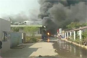 8 people scorched in hyderabad pharmaceutical factory
