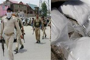 75 kg opium seized in jammu and kashmir one arrested