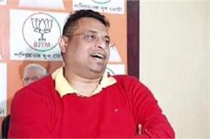 bjp mp soumitra khan sent notice of divorce to his wife
