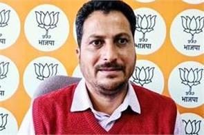 mla rakesh jamwal target on vikramaditya singh
