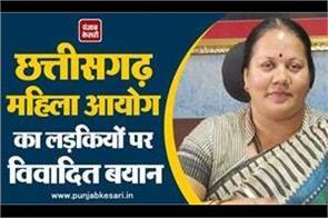 chhattisgarh women s commission chairman s words deteriorate