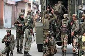 security forces begin search operation after militants flee in kashmir