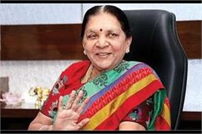 anandiben patel congratulated the people of the state for the new year
