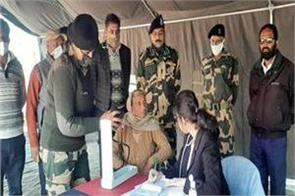 free medical camp by bsf in samba