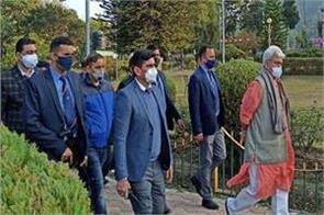 lieutenant governor visited puramandal uttaravahini and mansar