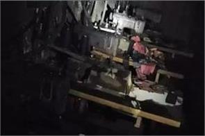 fire in mask making factory in mayapuri delhi one killed