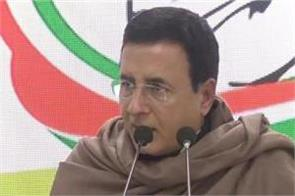 surjewala claims  99 9 percent want rahul gandhi to be elected