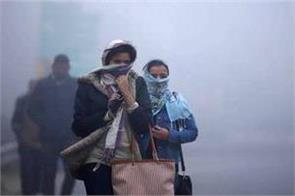 cold wave hit delhi 3 4 degree celsius
