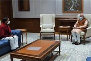telangana cm meets modi discusses pending issues related to the state
