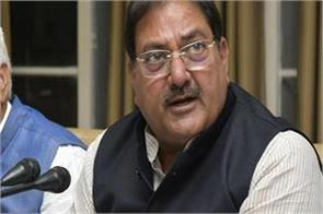the day is not far when jjp will merge with bjp abhay chautala