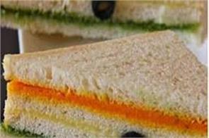 tricolor sandwich recipe