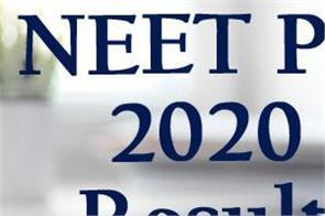 neet pg 2020 result will be released on january 31
