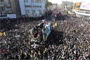 death toll rises to 56 in stampede at soleimani s funeral