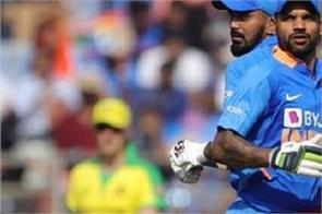 ind v aus after losing the first odi dhawan give big statement