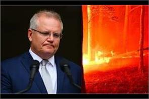 australian prime minister s approval rating singed by bushfires