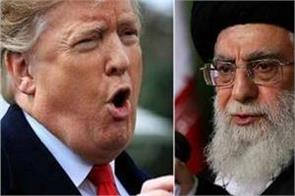 trump warns khamenei to be  careful with his words