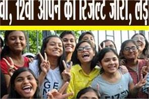 rsos result 2019 rajasthan 10th 12th open results released