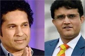 saurav ganguly shares training picture sachin trolls fiercely on internet