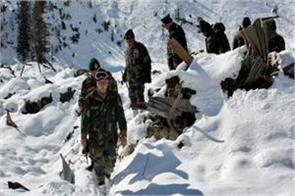 ice storm havoc in kashmir  12 people including 6 soldiers died
