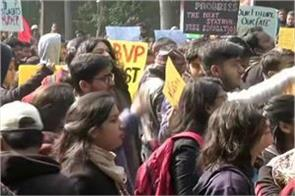delhi protests continue in jnu against january 5 violence in the campus