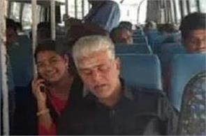 puducherry minister r kamalakannan travelled by a bus