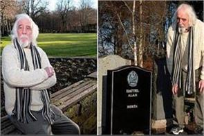 scotland man shocked to find his own grave in cemetery