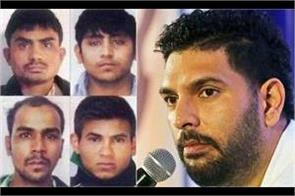 yuvraj singh expressed happiness over getting justice for nirbhaya