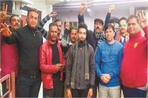 shiva soldiers protest against pakistan government