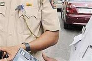 delhi police pub restaurant mall challan