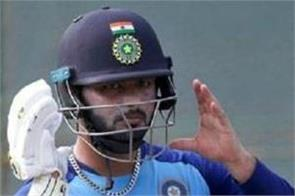 pant helmet was hit in the match may be out from the second odi