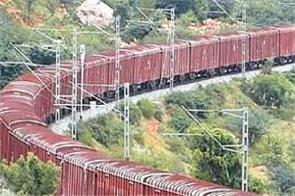 for the first time goods trains will run at speeds of 100