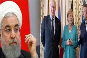 germany france uk urge iran not to flout nuclear deal