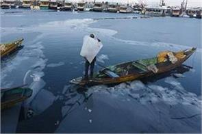 cold wave continues kashmir valley and ladakh temperature below zero