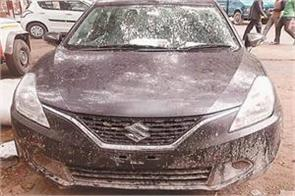 police solved matter two hours car recovered accused arrested