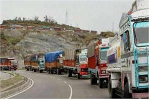 one way traffic restored on jammu srinagar national highway
