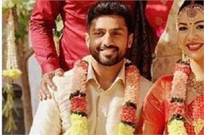 karun nair married with long time girlfriend sanaya tankariwala