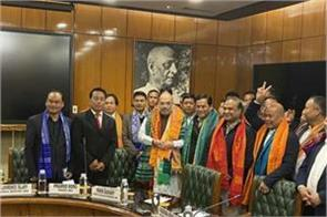 bodoland state dispute ended under leadership of amit shah