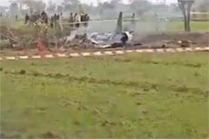 pakistan air force jet crashes 2 pilots killed