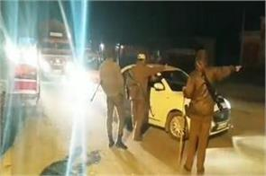 police attentive night jammu pathankot national highway blocked places