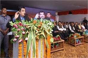 1 5 lakh people die in 5 lakh road accidents every year in the country gadkari