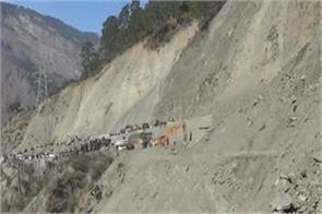 jammu srinagar national highway closed for third consecutive day