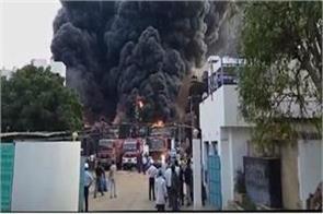 vadodara factory explosion 8 killed many injured